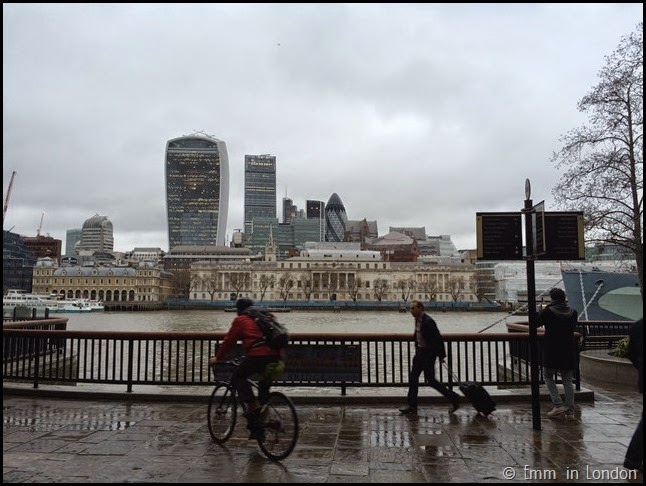 The city from Hay's Galleria