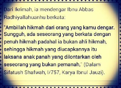 Kata Kata Bijak Mutiara Hikmah Islam