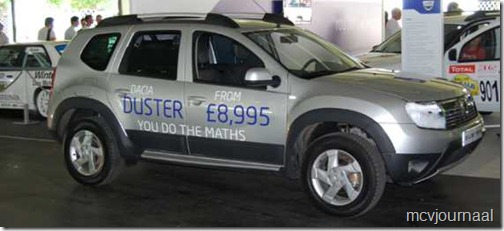 Dacia Duster in GB 03