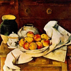 Paul Cezanne (1883-1887):Still Life. Fogg Art Museum. Harvard University. Cambridge. Massachusetts. Postimpresionismo