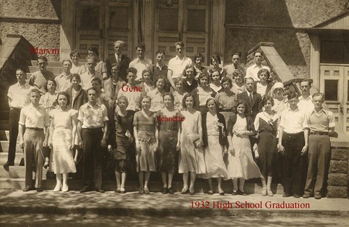 1932 High School Graduation