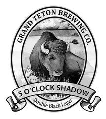 image of Grand Teton 5 O'Clock Shadow Double Black Lager sourced from the brewery