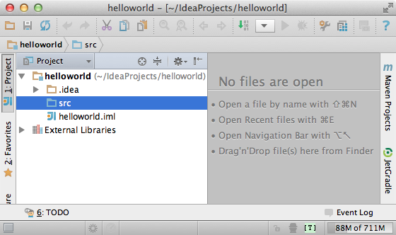 IntelliJ IDEA CE Scala blank project