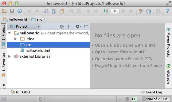 IntelliJ IDEA CE Scala blank project