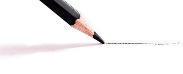 6- Um lápis