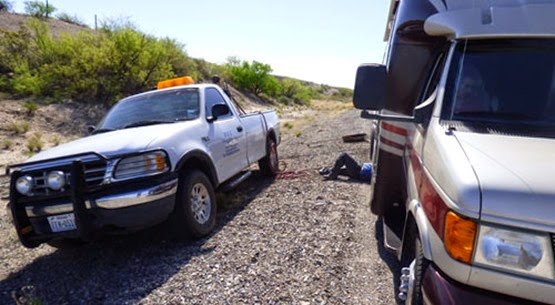 Motorhome Flat Tire