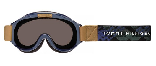 tommy hilfiger ski goggle-TH1101 navy-front
