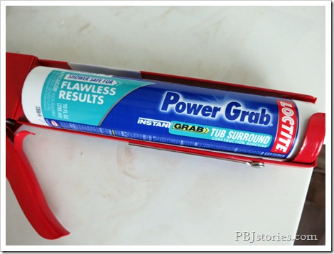 power grame mirror adhesive