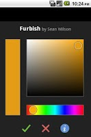 Screenshot of Furbish (colored wallpapers)