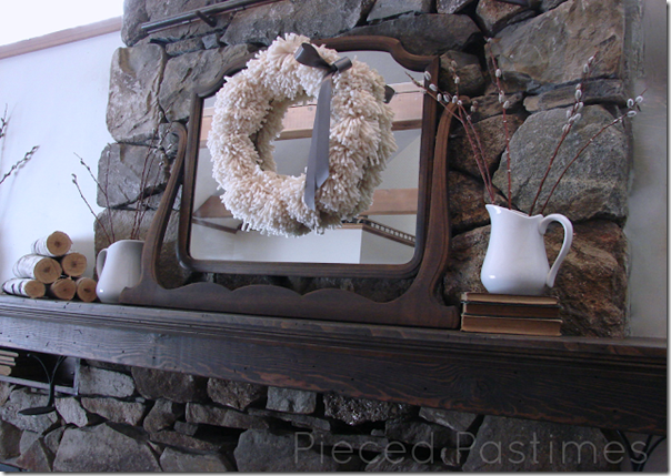 Winter Mantel 2013 - 1