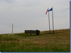 1815 Alberta - Writing-On-Stone Provincial Park sign