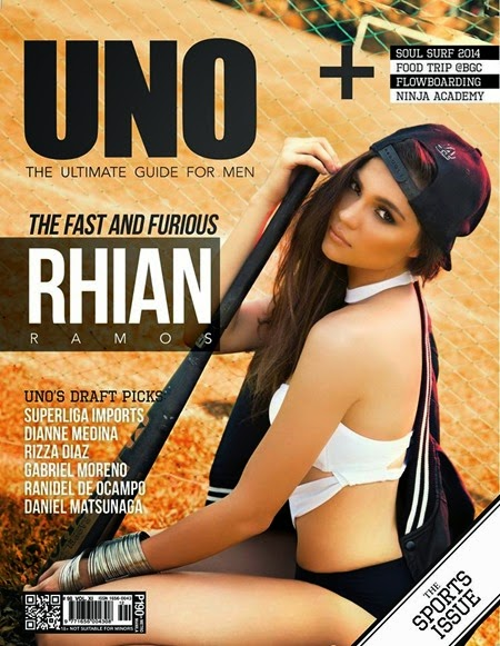 Rhian Ramos - UNO Sports Issue