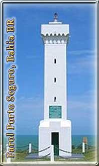 Leuchtturm Porto Seguro Bahia Brasilien - Farol Porto Seguro Bahia Brasil