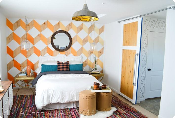 Bedroom Makeover @ Vintage Revivals
