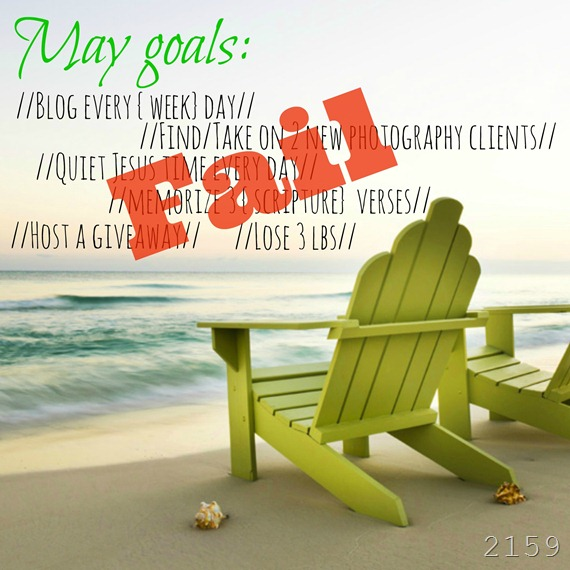 beach goals - fail