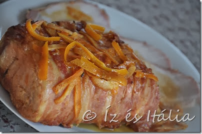 arrosto con senape a arancia