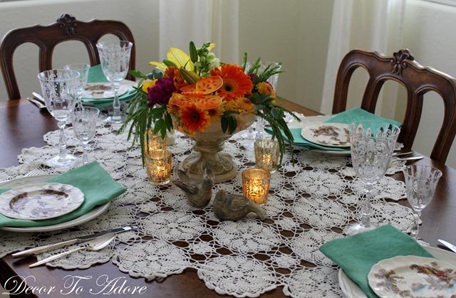 Elegant dinner for 8 070-003