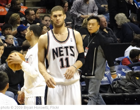 'Brook Lopez' photo (c) 2009, Bryan Horowitz - license: http://creativecommons.org/licenses/by-sa/2.0/