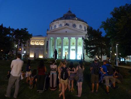 Obiective turistice Bucuresti: Ateneul Roman
