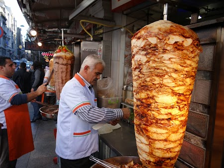 Kebab la Istanbul