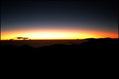 sunrise at haleakala 1