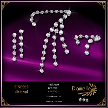 DANIELLE Finesse Diamond Jewelry Set'