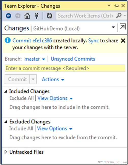 local-commit-git-team-explorer-visual-studio-2013
