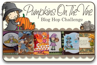 Pumpkins On A Vine Blog Hop Challenge