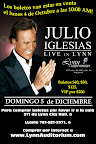 Julio Iglesias at the Lynn Auditorium