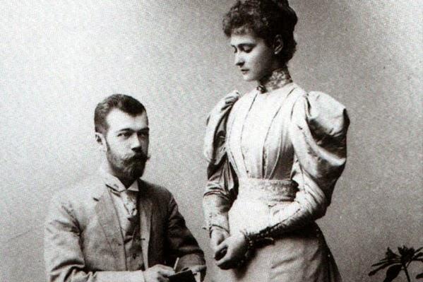 Nicolau II e Alexandra de Hesse