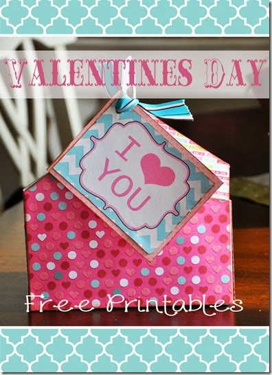 Free Valentine Printable - Free Valentines gift tags
