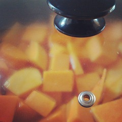 pumpkin in the slow cooker