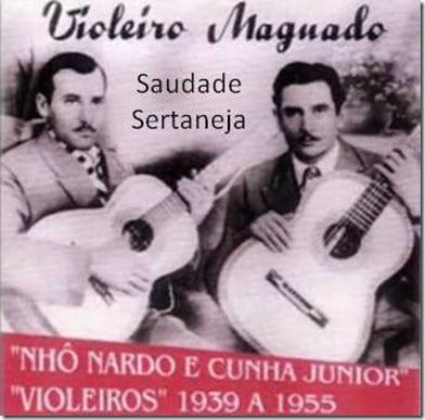 Nho Nardo e Cunha Júnior - Blog Saudade Sertaneja