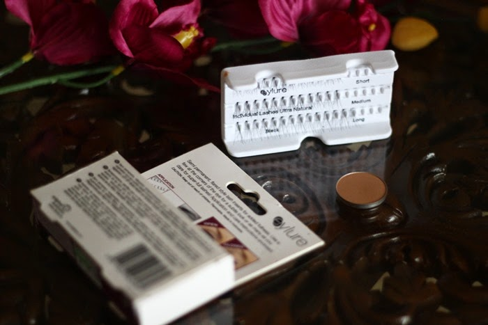 Eyelure Individual Lashes Ultra Natural lord and berry bronzer in sunny