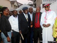 – Des opposants, lors de la rencontre avec Etienne Tshisekedi le 30/08/2011 à Kinshasa. Radio Okapi/ Ph. John Bompengo
