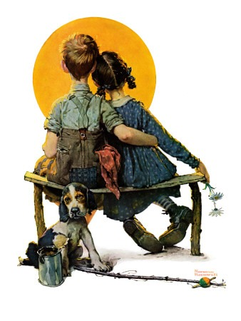 Sunset Norman Rockwell