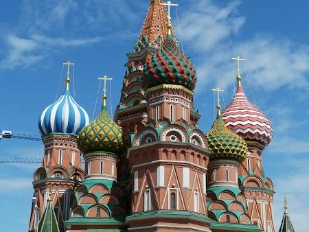 Obiective turistice Moscova: Catedrala Sf. Vasile Blajenai