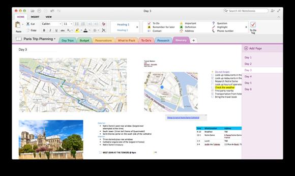 OneNote-Mac-app