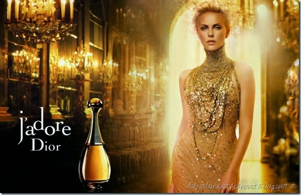 charlize theron j'adore dior