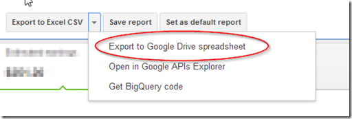 export to googledrive