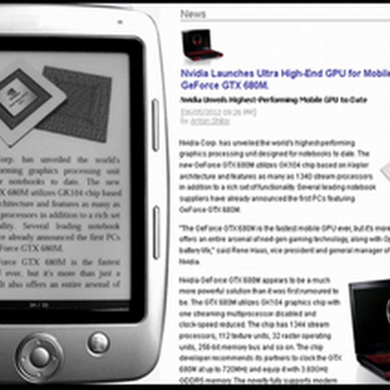 สร้างเอกสาร ePub จาก feed และบทความจากหน้าเวบเพจบน Firefox