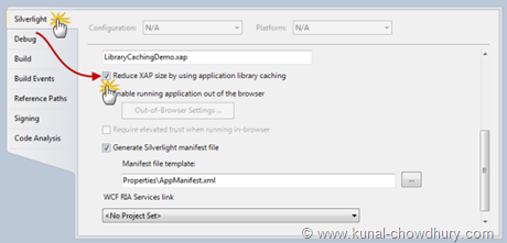 Library Caching Demo - Enable Application Library Caching