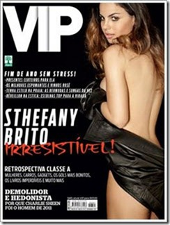 Revista Vip Sthefany Brito Dezembro 2011