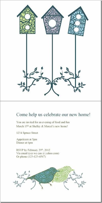 Invitation print