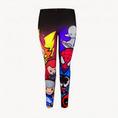 Kawaii Marvel Leggings from We Love Fine