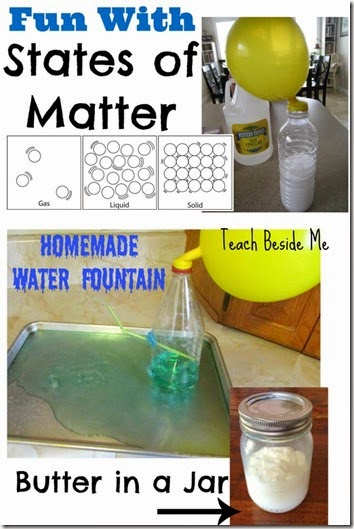 Hands on Activities to Learn about States of Matter - fun science experiments for elementary homeschoolers