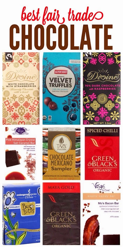 Best fair-trade chocolate bars