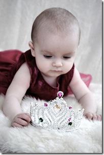 Lisa nästan 7 månader o svensk prinsessan e född! 029