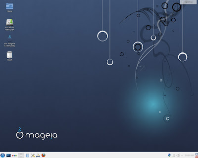 Mageia 3 KDE