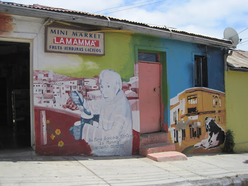 Some building owners commission their own murals.
